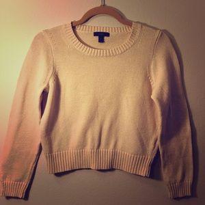 J. Crew Cropped Sweater